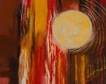 Table - medium - contemporary-abstract-abstract painting