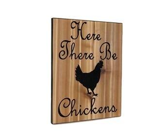 chicken decor chicken rooster decor kitchen decor farmhouse decor chicken gift country decor chicken coop sign
