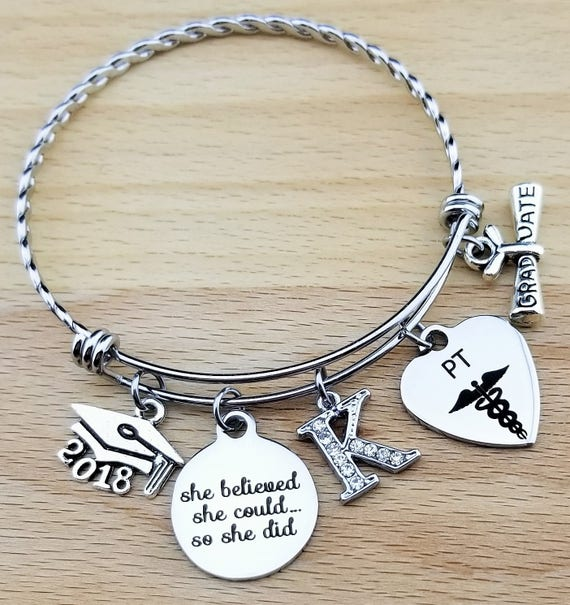 Physical Therapist Gifts Physical Therapy Gifts College Graduation Gift Graduation Gift Senior Gifts Senior 2018 She Believed She Could