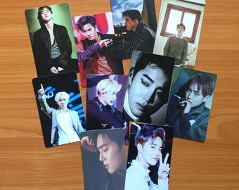 EXO Suho Photo Cards   Free Shipping