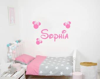 Sophia name wall decor