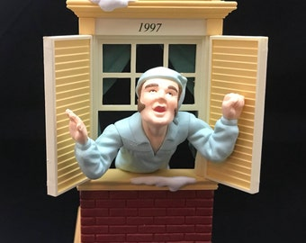 Away to the Window Hallmark Keepsake Ornament (1997)