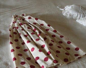 Vintage Style Polka Dots skirt