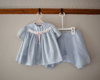 Vintage Toddler Girl Top and Bloomers, Size 2T 3T // Vintage Toddler Clothes // Toddler Girl Clothes // Vintage Clothing // Bloomers Girl