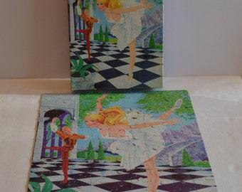 1980 Barbie Ballerina 100 Piece Jigsaw Puzzle