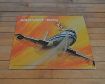 Music From The Original Motion Picture Soundtrack AIRPORT 1975 LP Vinyl Record