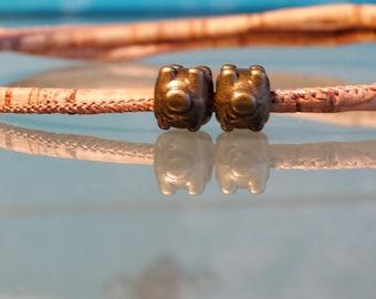 Vegan couples bracelet vegan couple gift simple vegan bracelet for couples pig piggy vegan girlfriend jewelry vegan boyfriend S M L XL