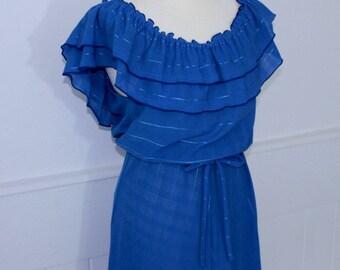 Blue Gypsy Dress