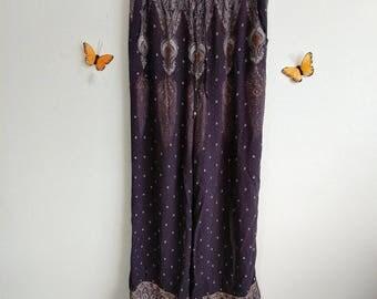 Bohemian Butterfly Pants