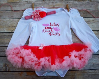Football Baby, Baby Girl Outfit, Baby Girl Football Outfit, Tutus And Touchdowns Outfit, Baby Girl Dress, Football Baby Outfit, Football