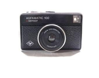 Agfa Agfamatic 100, Vintage Camera, Agfa Camera, Agfamatic 100 Viewfinder, 126 Film Camera, 1970s Camera