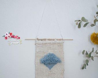 Blue Diamond weave
