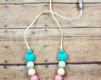Children's necklace, children's fidget necklace, sensory, teething, toddler necklace, teething necklace