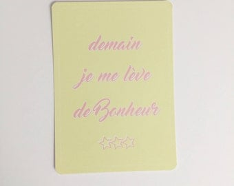 French post card