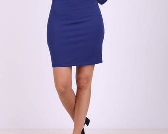 Boatneck bodycon dress
