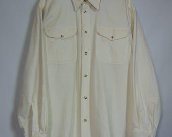 Vintage Cream Shirt