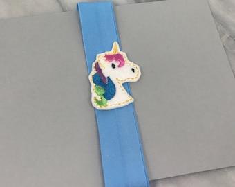Rainbow Unicorn Planner Band for Happy Planner Erin Condren Planner Notebook Band Back To School Girly School Supplies