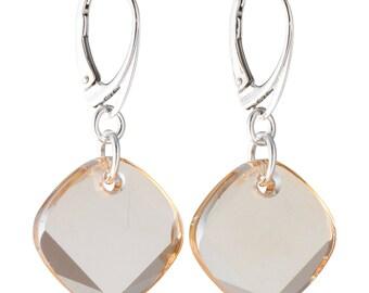 Swarovski Crystal Earrings. Golden Earrings. Pendant Earrings. Dangle Earrings. Drop Earrings. Sterling Silver Earrings. Women's Earrings.