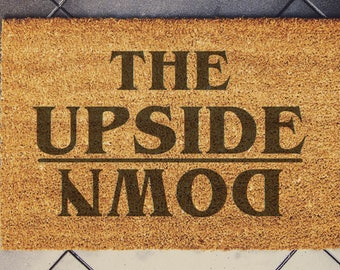 Stranger Things inspired doormat , The Upside down Lights,  60x40cm coconut housewarming gift coconut