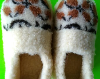 women's wool shoes | women slippers | handmade slippers | house shoes