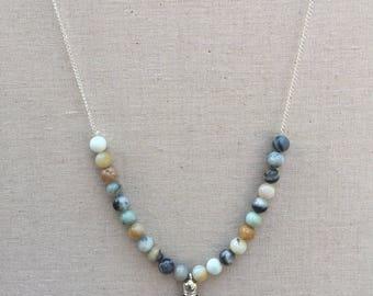 Natural Tassel Necklace