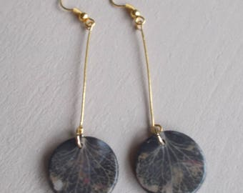 """These earrings. """"Japan"""" Hydrangea""""collection"""