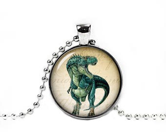 Dinosaur Pendant Dinosaur Necklace Dinosaur Necklace Dinosaur Chain Jurassic animal