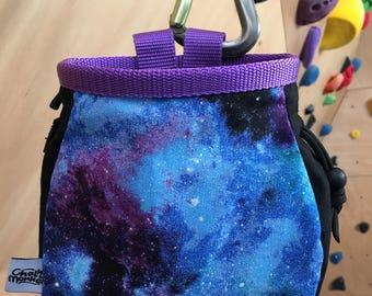 Galaxy Solar System print Chalk Bag