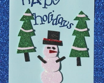 8-pack Snowman Holiday Cards