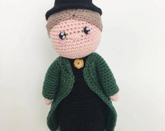 minerva mcgonagall crochet pattern english/dutch