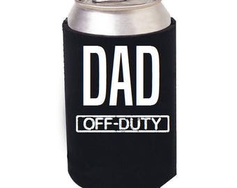 Dad Beer Cooler, Dad Beer Cozie, Dad Beer Can Cooler, Dad Mug, Dad Glass Cooler, Dad Gift, Gifts for Dad, Fathers Day, Beer Mug, Man Cave