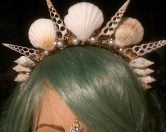Mocha Latte Mermaid Crown