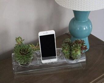 Plant Amp, Plant Speaker, Terrarium Speaker, Glass Speaker, Glass Amp, iPhone and Android