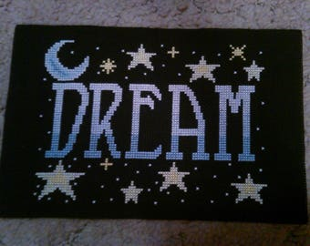 Completed CrossStitch - DREAM