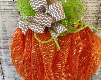 Fall wreath,Autumn wreath,Pumkin wreath