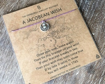 Outlander Inspired Wish Bracelet - Jacobean Wish