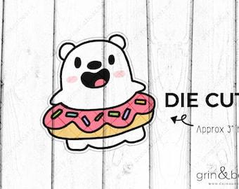 Donut Barry - Barry the Bear Die Cut (BD030)