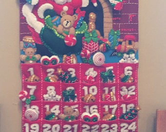 Must Be Santa Advent Calendar - Finished
