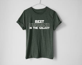 Best Husband In The Galaxy Shirt - Funny Husband Shirt - Husband Shirt - Husband Gift - Jedi Shirt - Galaxy Shirt - Gift For Him