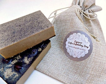 Espresso Coffee Soap, Coffee Lover Soap, Coffee Lover Gift, Goat Milk's  Soap, Exfoliating Soap, Coffee Gift, Christmas Soap, Kitchen Soap