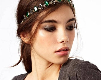 Fun Jewelled Festival Headband