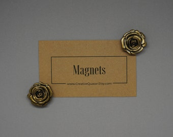 Floral Magnets: Rustic | Stylish | Command Center | Bulletin Board | Office Supply | Antique | Flower |