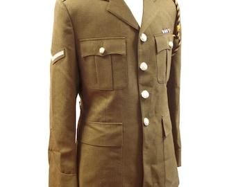 Royal Logistic Corps NO.2 Dress Man's Uniform - Tunic + Trousers - British Army Military - E448