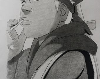 Omoi from Naruto