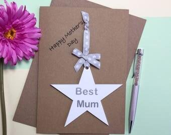 Best Mum Card - Happy Mother's Day - Best Mum Ever - Mother's Day Card - Mother's Day Gift - Mothers Day Card - Mothers Day Gift - Best Mum