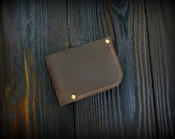 Wallet boyfriend gift mens wallet Bifold leather wallet personalized wallet wedding gift Personalized free Groomsmen Gift