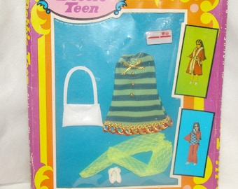 Debbie Teen Green Mini Outfit MIB