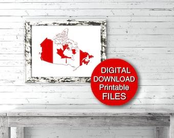 Canada 150 Digital Download Canada Day Party Decor 5x7 8x10 11x14 16x20