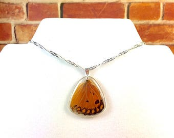 Real Butterfly Wing Pendant