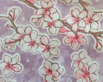 Floral Oilcloth Tablecloth